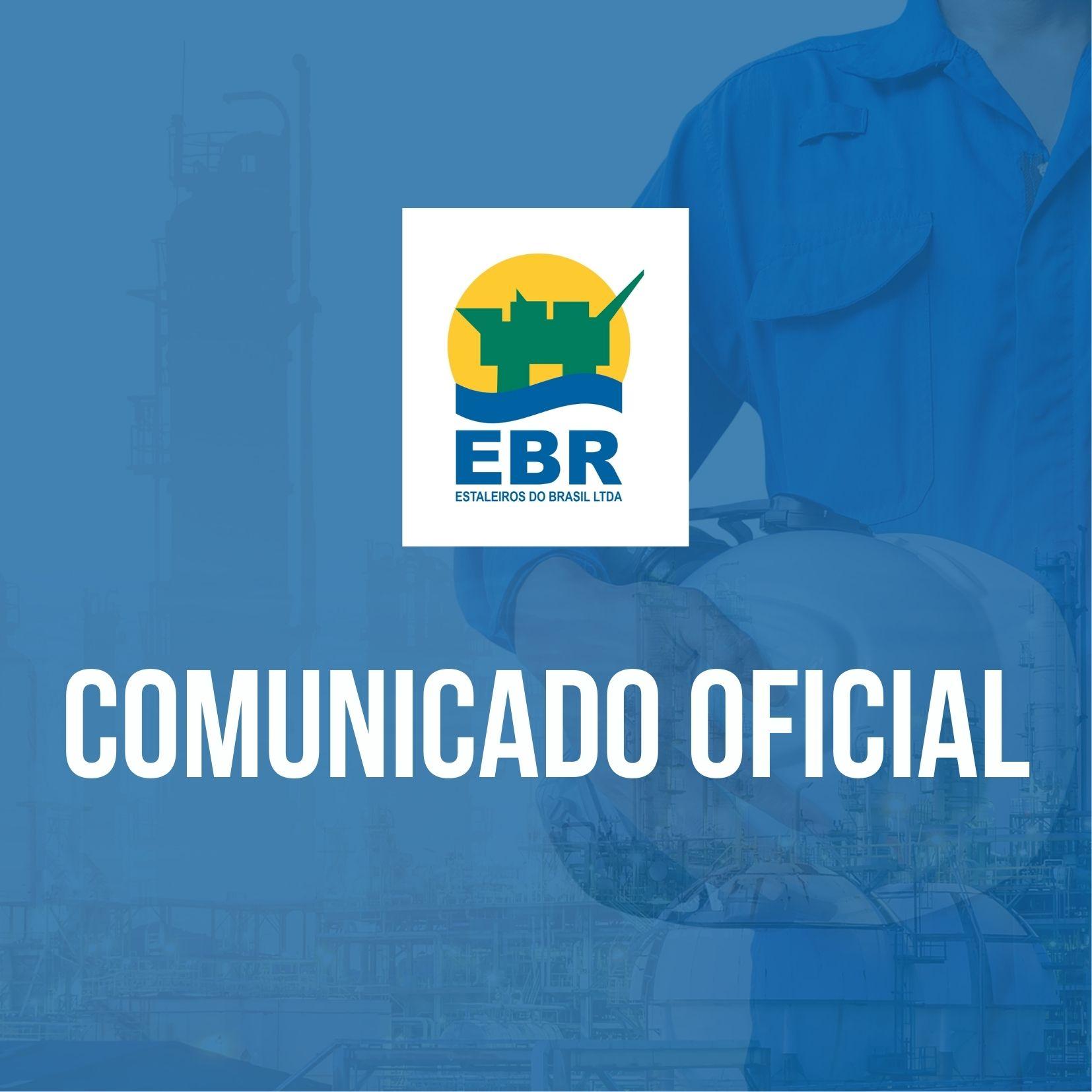 Comunicado oficial EBR